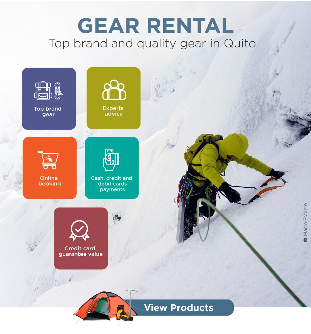 Gear Rental
